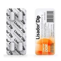 Lisador Dip 1g, blister com 4 comprimidos