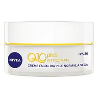 Creme Hidratante Facial Nivea Q10 Plus Antissinais Diurno - FPS 30, 52g