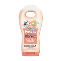 Shampoo Huggies Turma da Mônica Cacheados