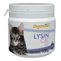 Lysin Cat SF frasco com 100g em pó de uso veterinário