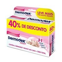 Creme para Prevenção de Assaduras Dermodex Prevent 60g, 2 unidades + 40% de desconto