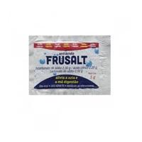 Frusalt 460mg/g + 100mg/g + 440mg/g, envelope com 5g de pó efervescente de uso oral