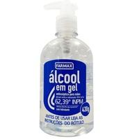 frasco com 430g de gel de uso dermatológico