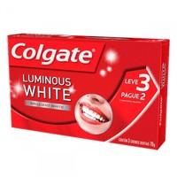 Creme Dental Colgate Luminous White - 70g, leve 3 pague 2