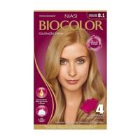 Tintura Creme Biocolor nº 8.1 louro claro acinzentado