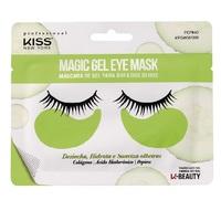 Máscara para Área dos Olhos Magic Gel Kiss NY K-Beauty pepino, 1 par