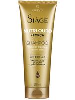 Shampoo Eudora Siàge Nutri Ouro + Força 250mL
