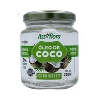 Óleo de Coco Assiflora extra virgem, 1 unidade com 200mL