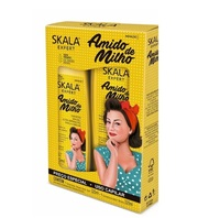 Kit Skala Amido de Milho shampoo, 325mL + condicionador, 325mL