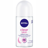 Desodorante Feminino Nivea Clear Skin roll-on, 50mL