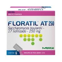 Floratil Pó Oral 200mg/g, caixa com 6 envelopes com 1g de pó de uso oral