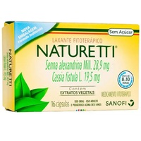 Naturetti caixa com 16 cápsulas gelatinosas duras
