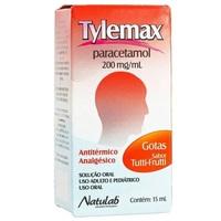 Tylemax Gotas 200mg/mL, caixa com 1 frasco gotejador com 15mL de solução de uso oral