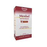 Menbel Comprimido 500mg, caixa com 1 comprimido