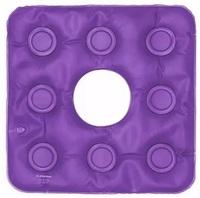 Almofada de Assento Bioflorence gel, quadrada, caixa de ovo com orifício