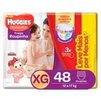 Fralda Roupinha Huggies Supreme Care XG, 48 unidades
