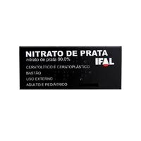 Nitrato de Prata 90% - IFAL 90%, 6 bastões com 0,8g de creme dermatológico