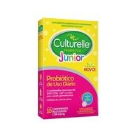 Culturelle Probiótico Júnior caixa com 10 comprimidos mastigáveis