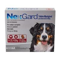 NexGard 25,1Kg a 50Kg, caixa com 1 tablete mastigável