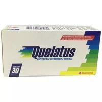 Quelatus caixa com 30 comprimidos