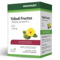 Tribulus Fructus Maxinutri 450mg, caixa com 60 cápsulas