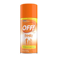 Repelente Off! Family aerosol, 1 unidade com 165mL