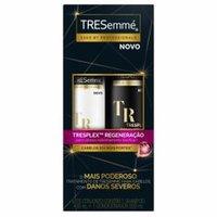 Kit Tresemmé Tresplex Regeneração Shampoo, 400mL + Condicionador, 200mL