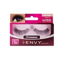 Cílios Postiços Kiss NY I-Envy Premium Nude nº 02, 1 par