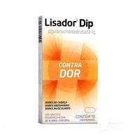 Lisador Dip 1g, caixa com 10 comprimidos