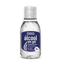 frasco com 50g de gel de uso dermatológico