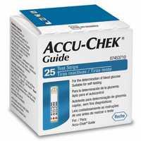 Tiras Medidoras de Glicemia Accu-Chek Guide 25 unidades