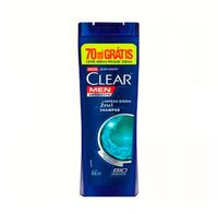 Shampoo Anticaspa Clear Men Limpeza Diária 2 em 1 - Leve 400mL Pague 300mL
