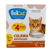 Coleira Antipulgas Bullcat para Gatos - 1 Unidade