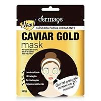 Caviar Gold Mask Dermage - Sachê, 10g
