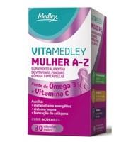 VitaMedley Mulher A-Z caixa com 30 cápsulas moles