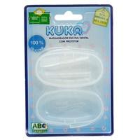 Escova Dental Infantil Kuka Massageadora 1 unidade, com estojo protetor