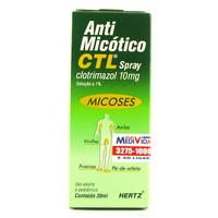 10mg/mL, caixa com 1 frasco spray com 30mL de solução de uso dermatológico