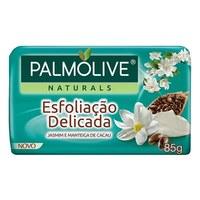 Sabonete Palmolive Naturals esfoliação delicada, barra, 1 unidade com 85g