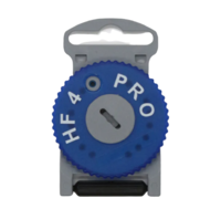 Estojo Filtro para Aparelho Auditivo Direito de Ouvir HF4 - azul, protetor de cera com 8 peças, ref.4002