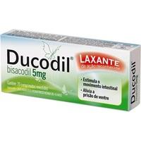 Ducodil 5mg, caixa com 20 comprimidos revestidos