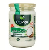 Óleo de Coco Copra sem sabor, pote, 500mL