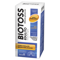Biotoss Edulito 60mg/mL, frasco com 120mL de xarope