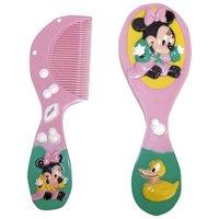 3D, Minnie, escova + pente, rosa