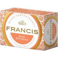 Sabonete Francis Clássico rosas de Provence, barra com 90g