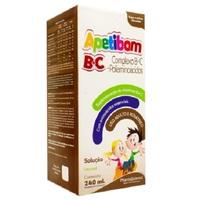 Apetibom BC Frasco com 240mL de solução de uso oral, chocolate