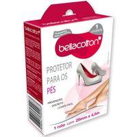 Protetor para Pés Bellacotton transparente, 25mm x 4,5m, 1 unidade