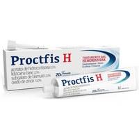 Proctfis H 0,5% + 2,0% + 2,0% + 10,0%, bisnaga com 20g de pomada de uso dermatológico + aplicador