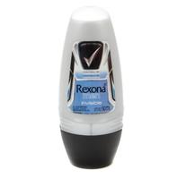 Desodorante Masculino Rexona Motionsense invisible, roll-on, 1 unidade com 50mL