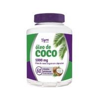 Óleo de Coco Vigora 1000mg, frasco com 60 cápsulas gelatinosas