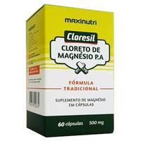 Cloresil 500mg, caixa com 60 cápsulas